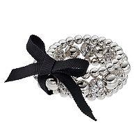 Simply Vera Vera Wang Bead & Fireball Stretch Bracelet Set