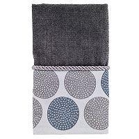 Avanti Dotted Circle Fingertip Towel