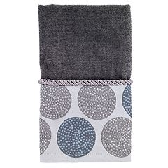 Avanti Dotted Circle Fingertip Towel