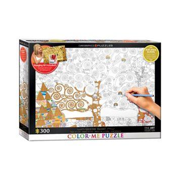 Eurographics Inc. 300-pc. Gustav Klimt's Tree Of Life Color-Me Puzzle