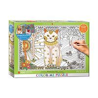 Eurographics Inc. 500-pc. Magical Cat Color-Me Puzzle