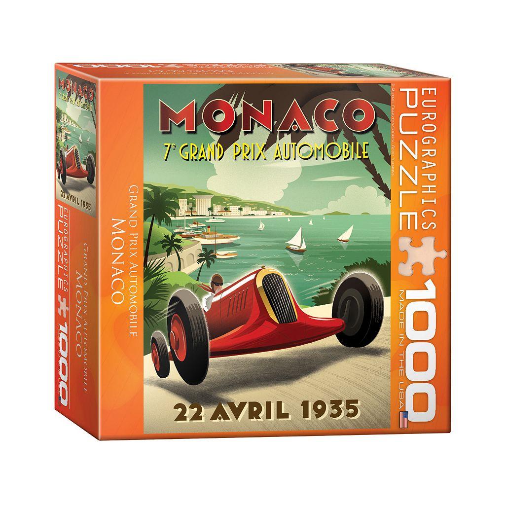 Eurographics Inc. 1000-pc. Monaco Grand Prix Jigsaw Puzzle