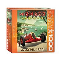Eurographics 1000-pc. Monaco Grand Prix Jigsaw Puzzle
