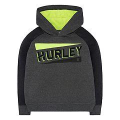Boys 4-7 Hurley Stadium Lines Logo Hoodie