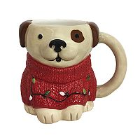 St. Nicholas Square® Dog in Holiday Sweater Mug