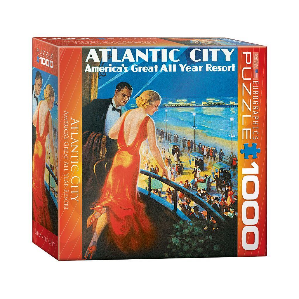 Eurographics Inc. 1000-pc. Atlantic City Jigsaw Puzzle
