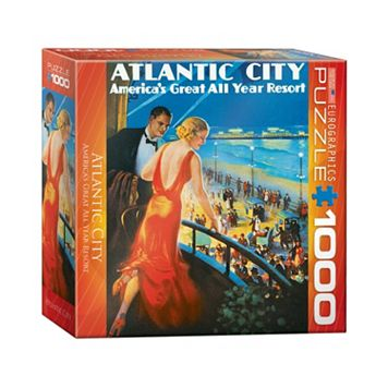 Eurographics 1000-pc. Atlantic City Jigsaw Puzzle