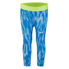 Girls 4-6x Nike Blue Dri-FIT Leggings
