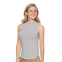 Women's SONOMA Goods for Life™ Ribbed Mockneck Tank