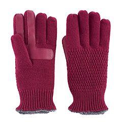 Women's isotoner Knit smarTouch smartDRI Tech Gloves