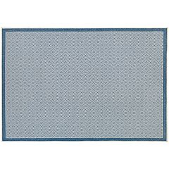 Couristan Monaco Sea Pier Subtle Lattice Indoor Outdoor Rug