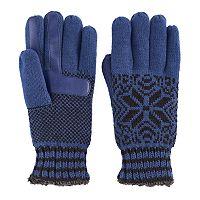 Women's Isotoner Snowflake Knit smarTouch smartDRI Tech Gloves
