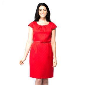 Women's ILE New York Solid A-Line Dress