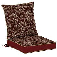 Bombay® Outdoors Royal Zanzibar Medallion Reversible Dining Chair Cushion Set