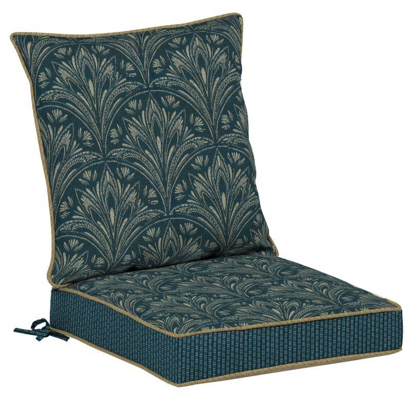 Chair Cushions Kohls ... Royal Zanzibar Medallion Reversible Dining Chair Cushion Set, Blue