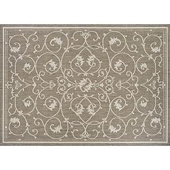 Couristan Recife Veranda Floral Indoor Outdoor Rug