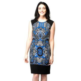 Women's ILE New York Paisley Sheath Dress
