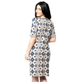 Women's ILE New York Tribal Shift Dress