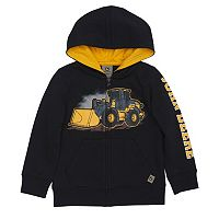 Toddler Boy John Deere Front Loader Zip Hoodie