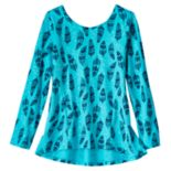 Girls 4-10 Jumping Beans® Graphic Peplum Tunic