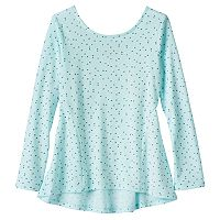 Girls 4-10 Jumping Beans® Pieced Graphic Tunic