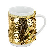 St. Nicholas Square® Mermaid Sequins 2-pc. Mug Cozy Set