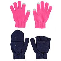 Girls 4-16 2 pkGloves