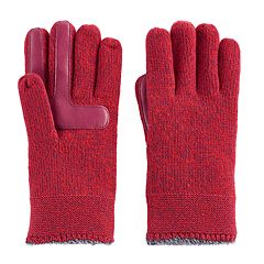 Women's isotoner Marled Knit smarTouch smartDRI Tech Gloves