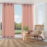 Parasol 1-Panel St. Kitts Indoor Outdoor Curtain