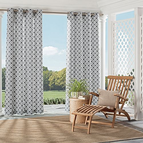 Parasol 1-Panel St. Kitts Indoor Outdoor Curtain