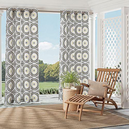 Parasol 1-Panel Cayman Indoor Outdoor Curtain