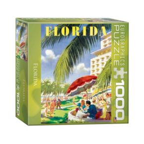 Eurographics 1000-pc. Florida Jigsaw Puzzle