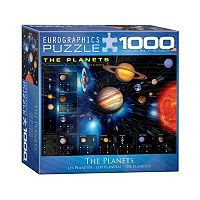 Eurographics 1000-pc. The Planets Jigsaw Puzzle