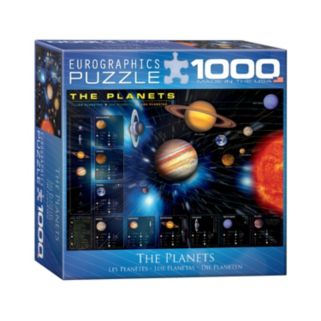 Eurographics Inc. 1000-pc. The Planets Jigsaw Puzzle