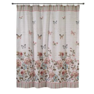 Avanti Butterfly Garden Shower Curtain