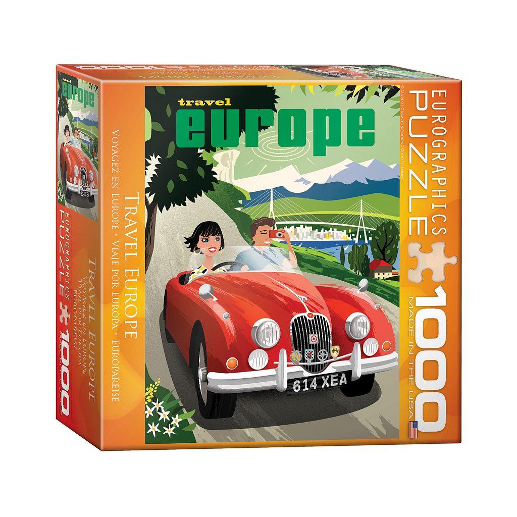 Eurographics Inc. 1000-pc. Travel Europe Jigsaw Puzzle