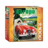 Eurographics 1000-pc. Travel Europe Jigsaw Puzzle