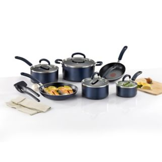 T-Fal Color Luxe 12-pc. Nonstick Titanium Cookware Set