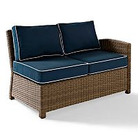 Crosley Outdoor Bradenton Outdoor Wicker Sectional Right Corner Loveseat