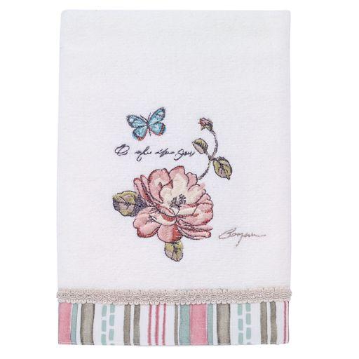 Avanti Butterfly Garden Hand Towel