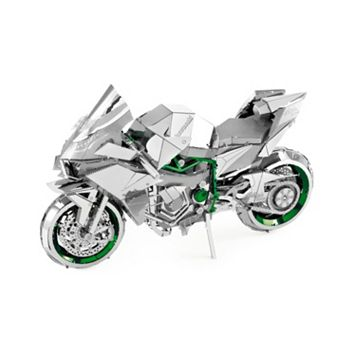 Fascinations Kawasaki Ninja H2R ICONX 3D Metal Model Kit