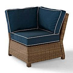 Crosley Outdoor Bradenton Outdoor Wicker Sectional Corner Chair