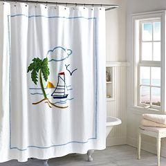 Destinations Tropical Isle Shower Curtain