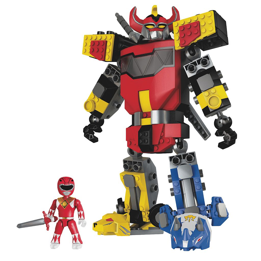 Power Rangers Mighty Morphin Megazord Set by Mega Construx