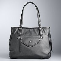 Simply Vera Vera Wang Sussex Side Zipper Tote