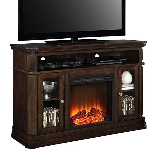 Ameriwood Brooklyn Electric Fireplace TV Stand