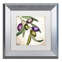 Trademark Fine Art Olive Branch I Framed Wall Art