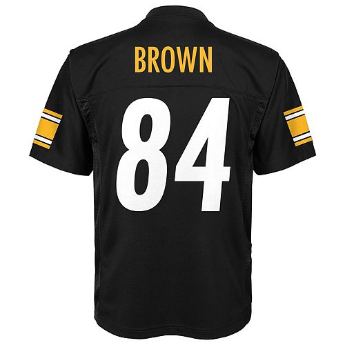 the latest 518fa 96dd2 Boys 8-20 Pittsburgh Steelers Antonio Brown Replica Jersey