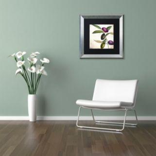 Trademark Fine Art Olive Branch II Framed Wall Art