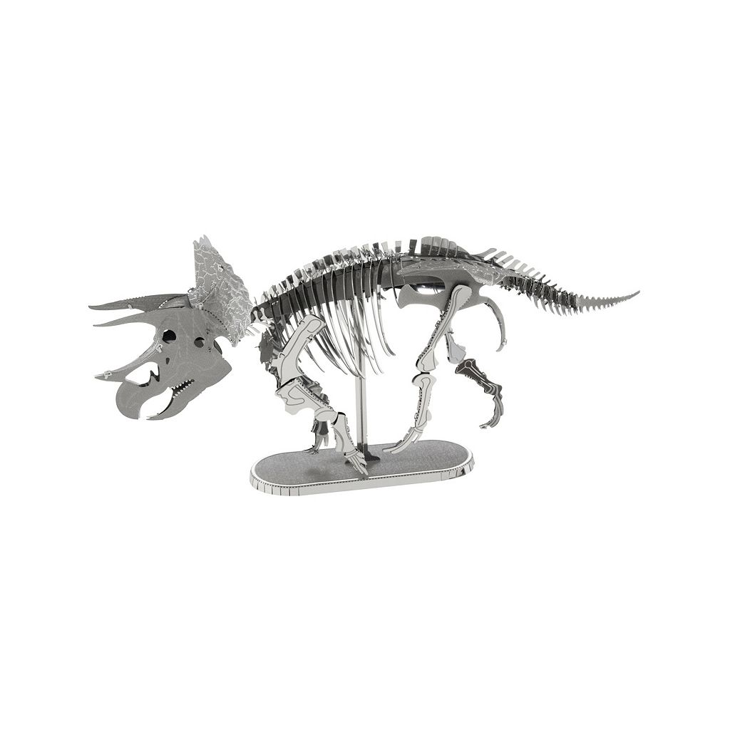 Fascinations Triceratops Metal Earth 3D Laser Cut Model Kit